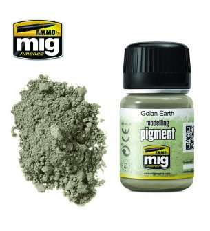 AMMO MIG 3026 Golan Earth Superfine Pigment