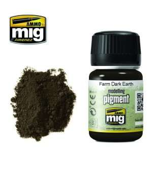 AMMO MIG 3027 Farm Dark Earth Superfine Pigment