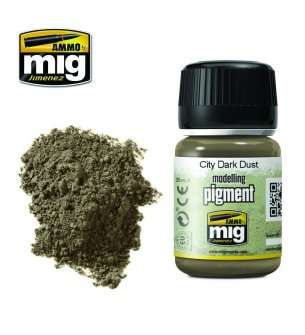 AMMO MIG 3028 City Dark Dust Superfine Pigment