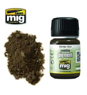 AMMO MIG 3029 Winter Soil Superfine Pigment