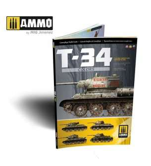 AMMO MIG 6145 T-34 Colours Camouflage Patterns WWII - English