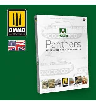AMMO MIG 6270 Panther Modelling The TAKOM Family - English
