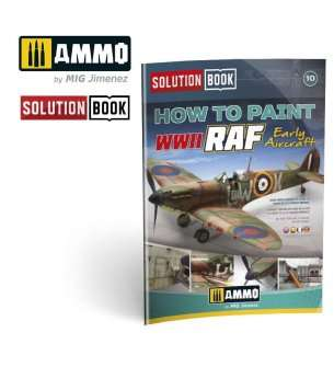 AMMO MIG 6522 Solution Book - WWII RAF Early Aircraft