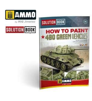 AMMO MIG 6600 Solution Book - 4BO Green Vehicles