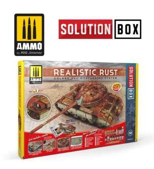 AMMO MIG 7719 Realistic Rust - Solution Box