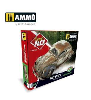 AMMO MIG 7805 Rust Effects, Solution set