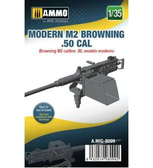 1:35 AMMO MIG 8099 Moder M2 Browning .50 CAL