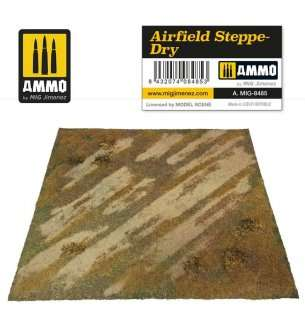 AMMO MIG 8485 Airfield Steppe Dry - Mat for Diorama