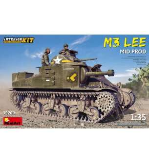 1:35 MiniArt 35209 M3 Lee Mid Production with Interior Kit