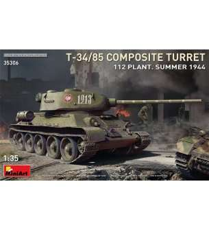 1:35 MiniArt 35306 T-34/85 Composite Turret. 112 Plant. Summer1944