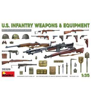 1:35 MiniArt 35329 U.S. Infantry Weapons & Equipment