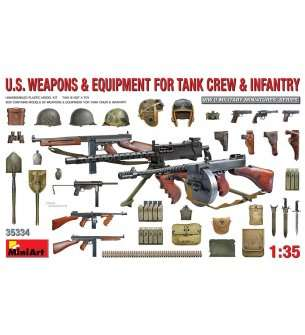 1:35 MiniArt 35334 U.S. Weapons & Equipment for Tank Crew & Infantery