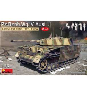 1:35 MiniArt 35344 PZ.BEOB.WG.IV. Ausf. J Late/Last Production - 2in1