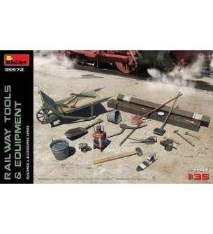 1:35 MiniArt 35572 Railway Tools & Equipment