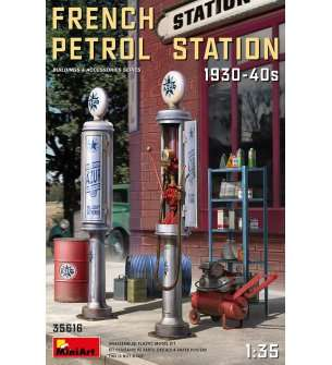 1:35 MiniArt 35616 French petrol station 1930-40's