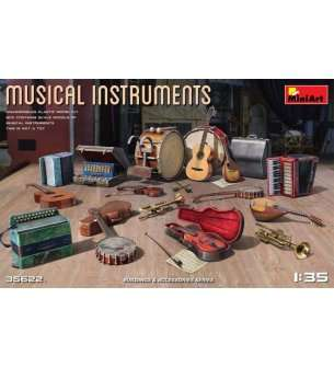 1:35 MiniArt 35622 Musical Instruments
