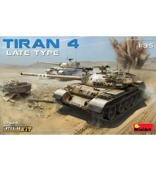 1:35 MiniArt 37029 Tiran 4 late type – with Interior Kit