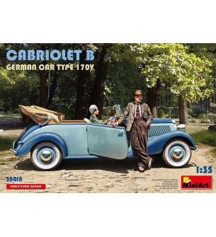 1:35 MiniArt 38018 Cabriolet B German car type 170V