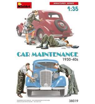 1:35 MiniArt 38019 Car Maintenance 1930-40's