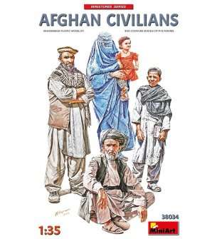 1:35 MiniArt 38034 Afghan Civilians