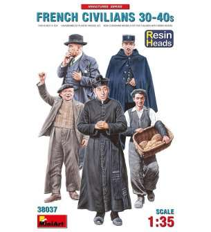 1:35 MiniArt 38037 French Civilians 1930-40's