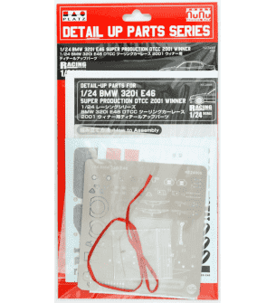1:24 NuNu 24005 BMW 320i E46 - Detail Up Parts