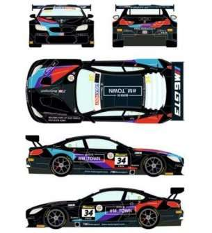 1:24 Racing Decals 43 24/032 BMW M6 GT3 #34 Liqui Moly 12h of Bathurst 2020