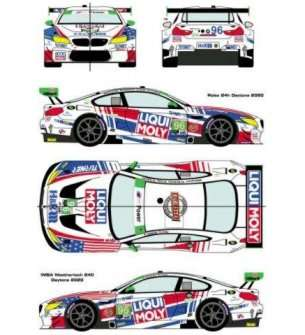 1:24 Racing Decals 43 24/036 BMW M6 GTD #96 IMSA Weathertech 24h of Daytona 2020
