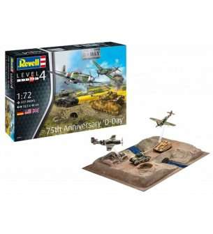 1:72 Revell 03352 75 Years D-Day - Gift Set