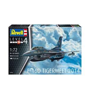 1:72 Revell 03844 Lockheed Martin F-16D Tigermeet 2014 - Model Set