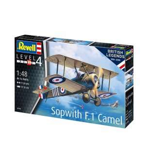 1:48 Revell 03906 100 Years RAF: Sopwith Camel
