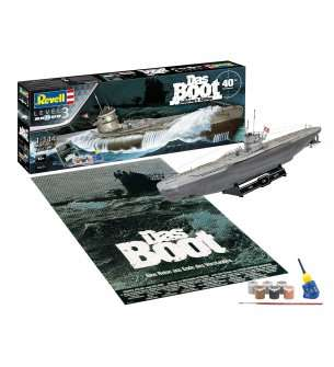 1:144 Revell 05675 Das Boot Collector's Edition - 40th Anniversary - Gift Set