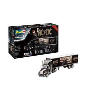 "1:32 Revell 07453 Tour Truck ""AC/DC"" - Gift Set - Limited Edition!"