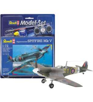 1:72 Revell 64164 Spitfire Mk.V - Model Set