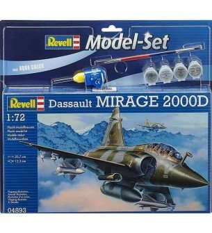 1:72 Revell 64893 Dassault Aviation Mirage 2000D - Model Set