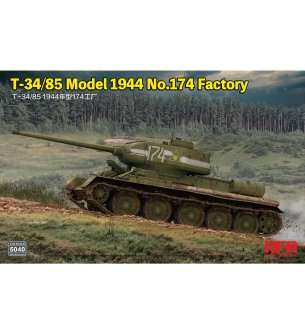 1:35 Rye Field Model 5040 T-34/85 Model 1944 No.174 Factory
