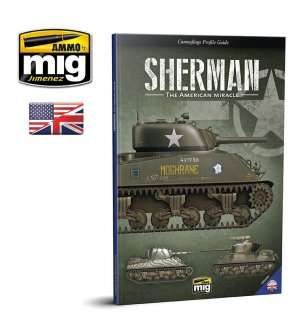 AMMO MIG 6080 Camouflage Guide - Sherman - The American Miracle