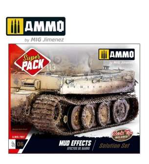 AMMO MIG 7807 Super Pack - Mud Effects - Solution Box