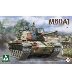 1:35 Takom 2132 U.S. Army Main Battle Tank M60A1