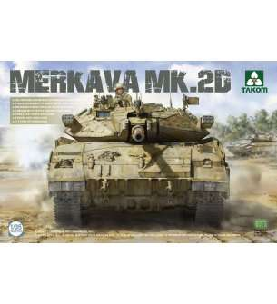1:35 Takom 2133 Merkava 2D - Israel Defence Forces Main Battle Tank