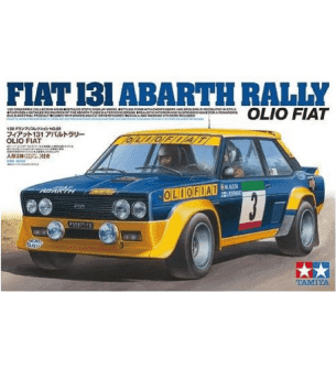 1:20 Tamiya 20069 Fiat 131 Abarth Rally Olio
