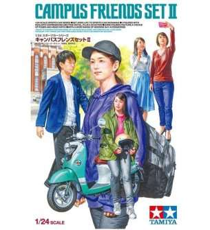 1:24 Tamiya 24356 Campus Friends Set II