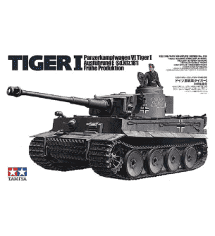 1:35 Tamiya 35216 German PzKpfw.VI Tiger I E Early w/1 Figure
