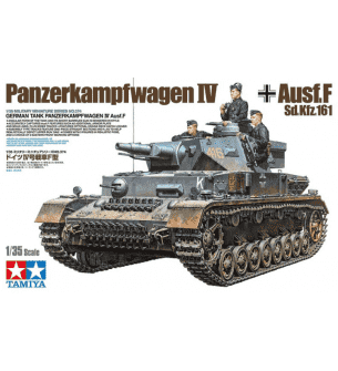 1:35 Tamiya 35374 German Panzerkampfwagen Battle Tank IV F L24/75mm