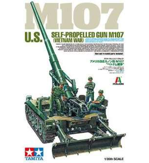 1:35 Tamiya 37021 U.S. Self-Propelled Gun M107 (Vietnam War)