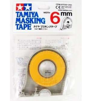 Tamiya 87030 Masking Tape 6mmX18m with Dispender
