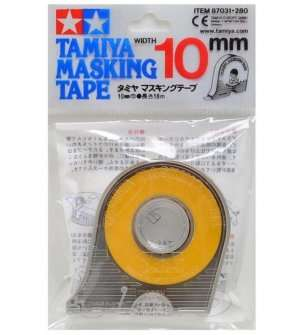 Tamiya 87031 Masking Tape 10mmX18m with Dispender