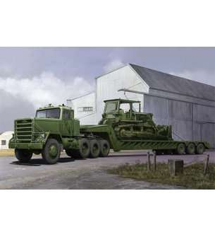 1:35 Trumpeter 01078 M920 Tractor tow M870A1 Semi Trailer