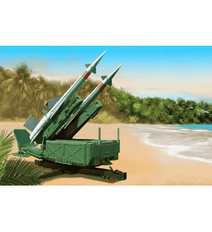 1:35 Trumpeter 02353 Soviet 5P71 Launcher with 5V27 Missile Pechora (SA3B Goa) Rounds Loaded