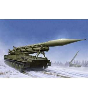 1:35 Trumpeter 09545 2P16 Launcher with Missile of 2k6 Luna (FROG-5)